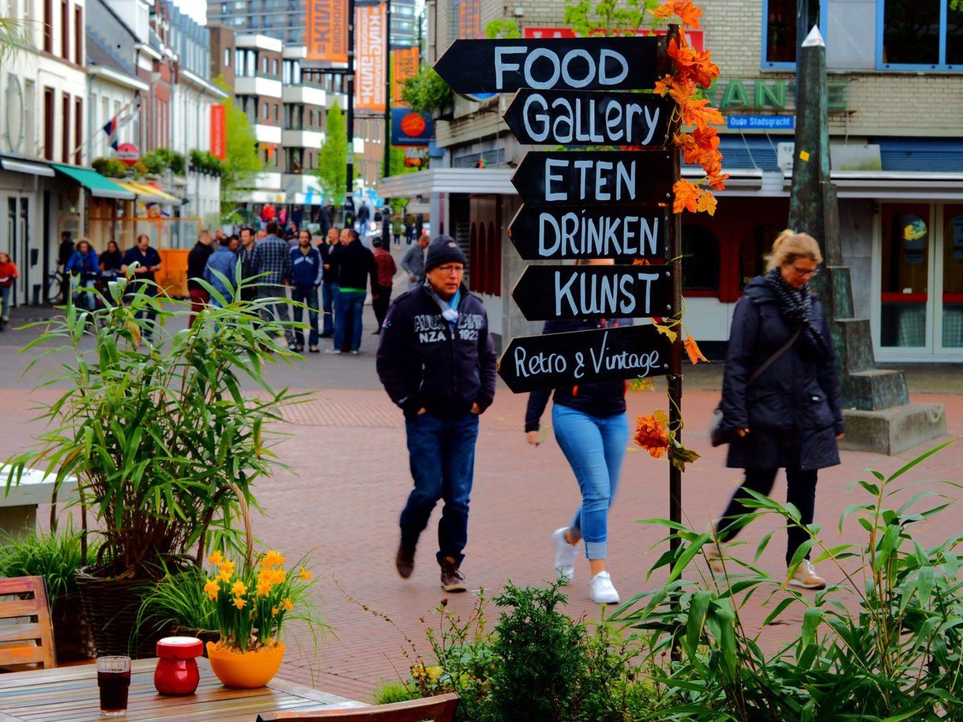 FoodGallery: een mix van kunst, vintage, lunch en diner